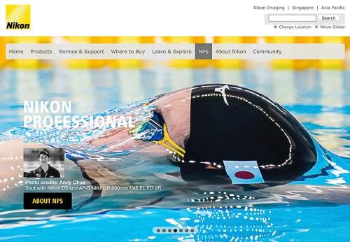 Sports photography Singapore Nikon swimming