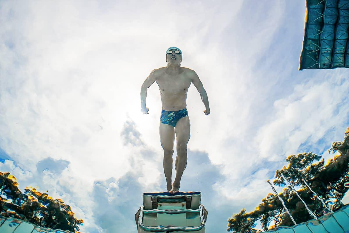Underwater Sports Photography Singapore