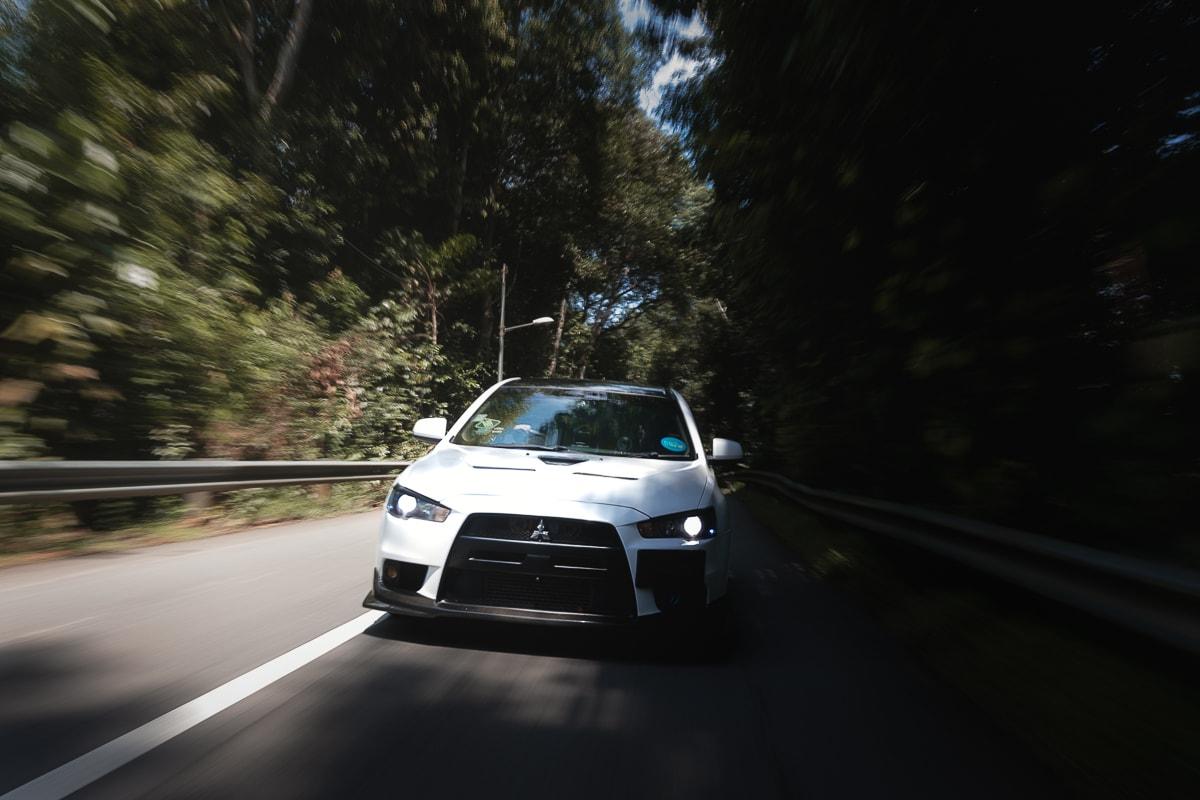 Evo 10 Car photoshoot