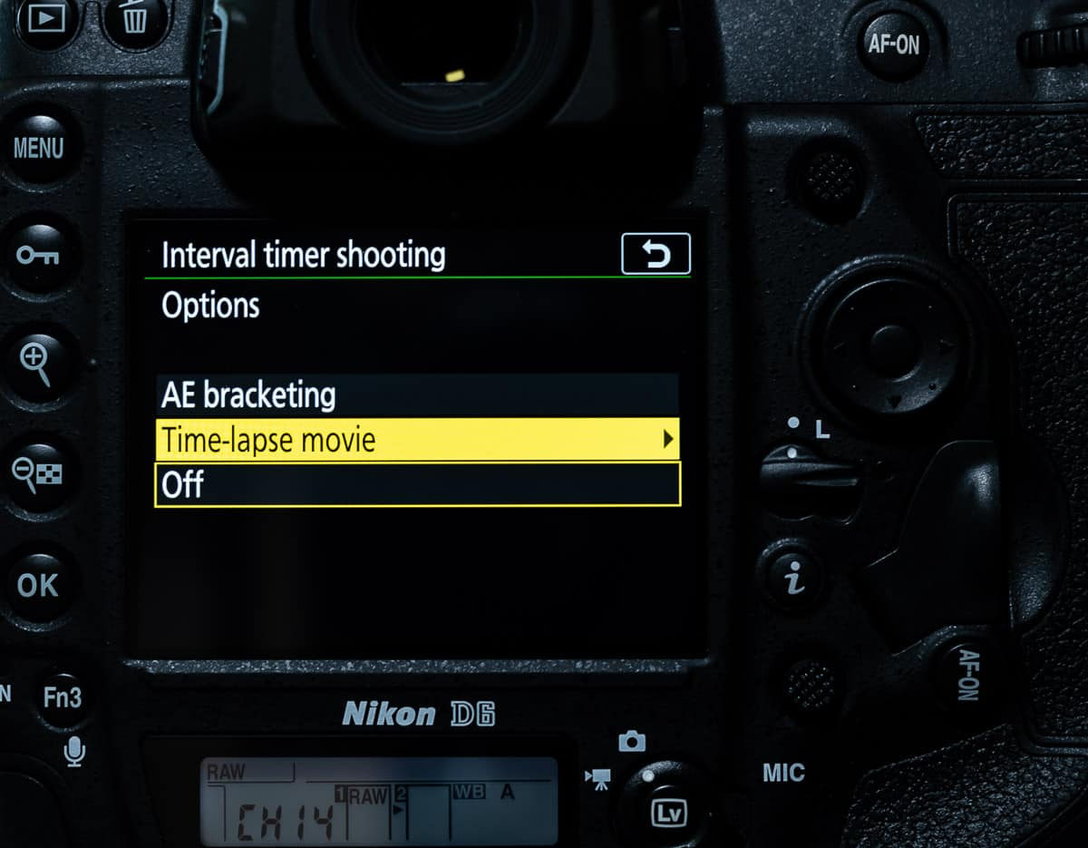 D6 Interval shooting