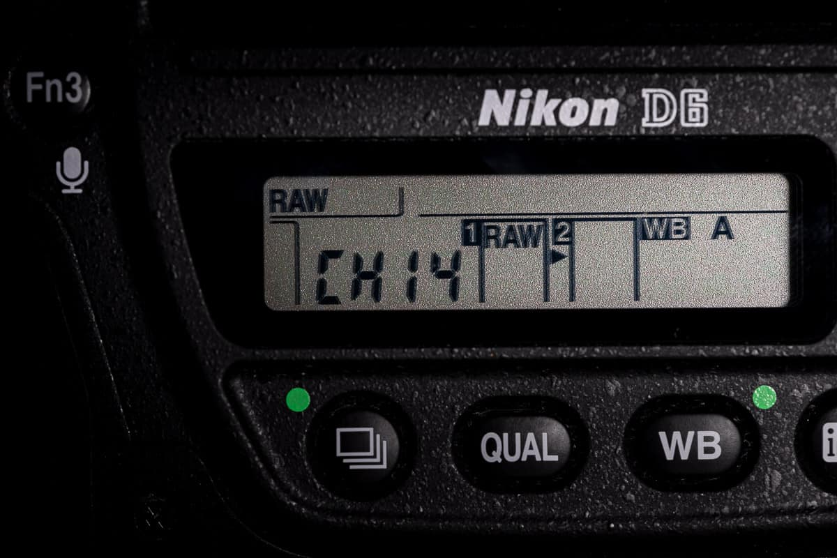 Nikon D6 14fps